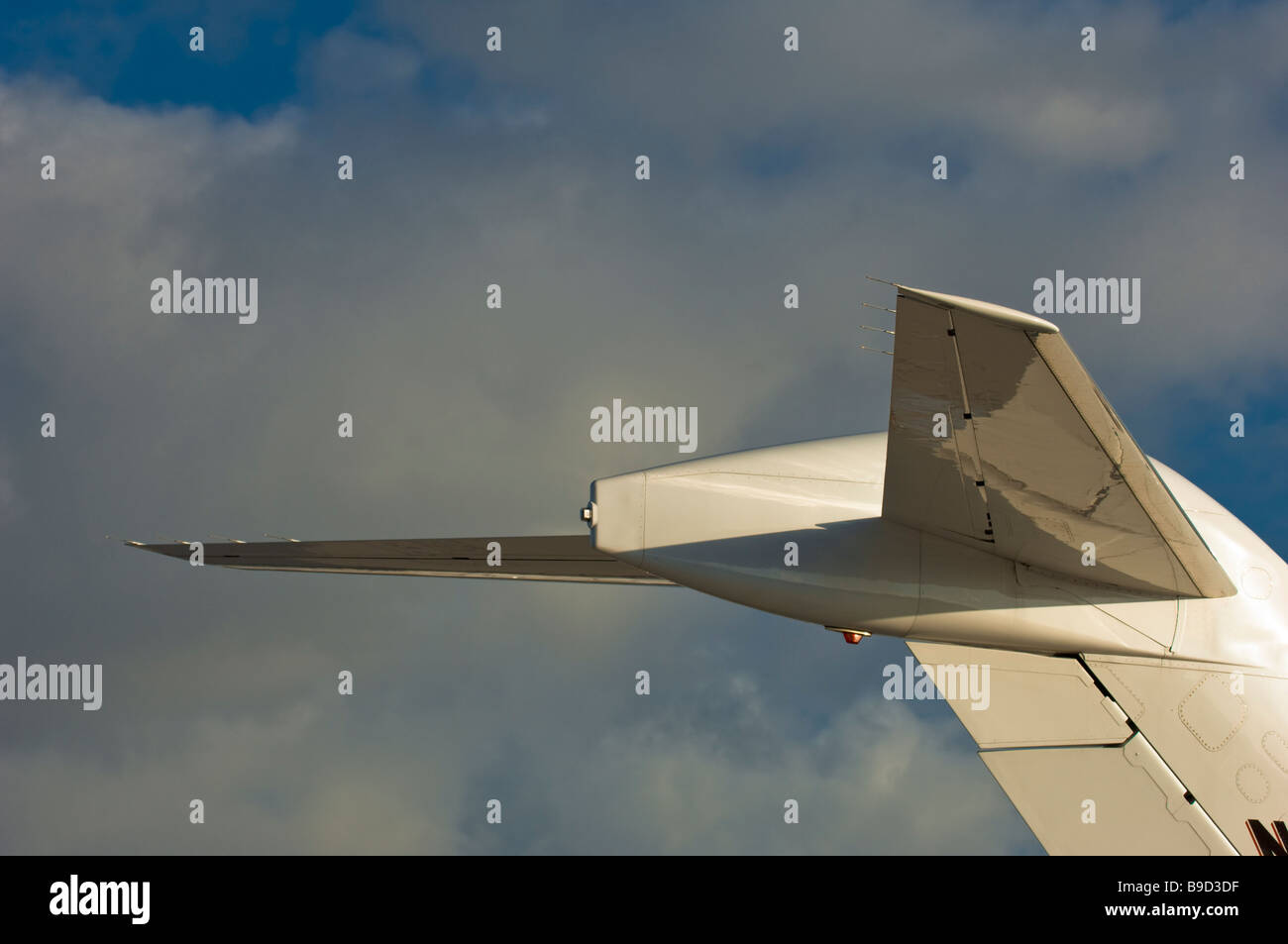 small jet aircraft - Stock Image