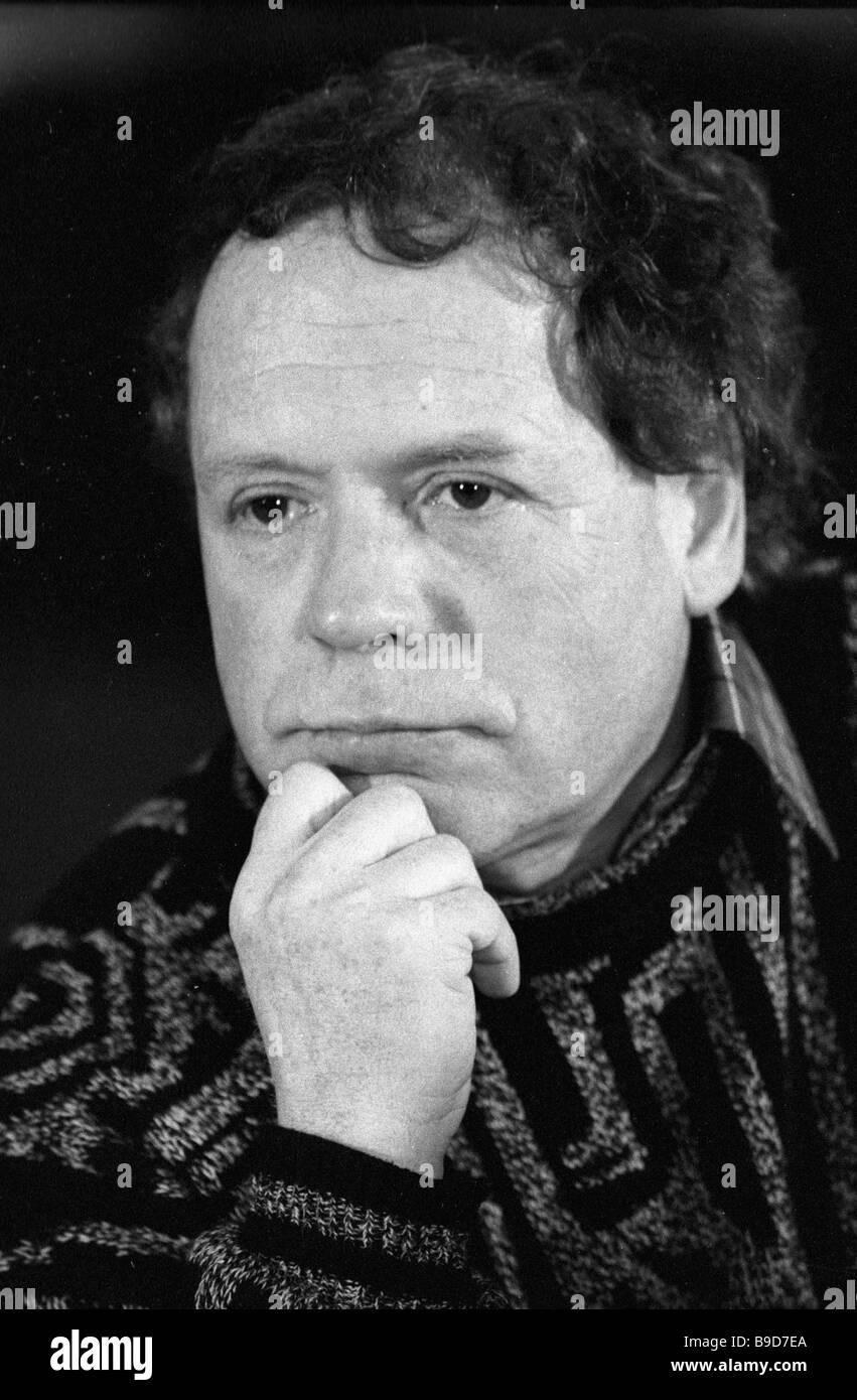 Playwright Edvard Radzinsky - Stock Image