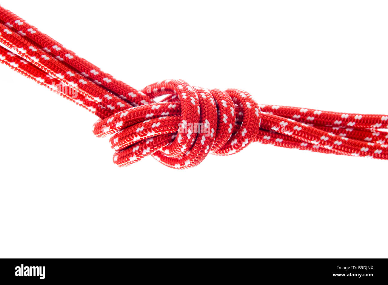 Climbing rope - Stock Image