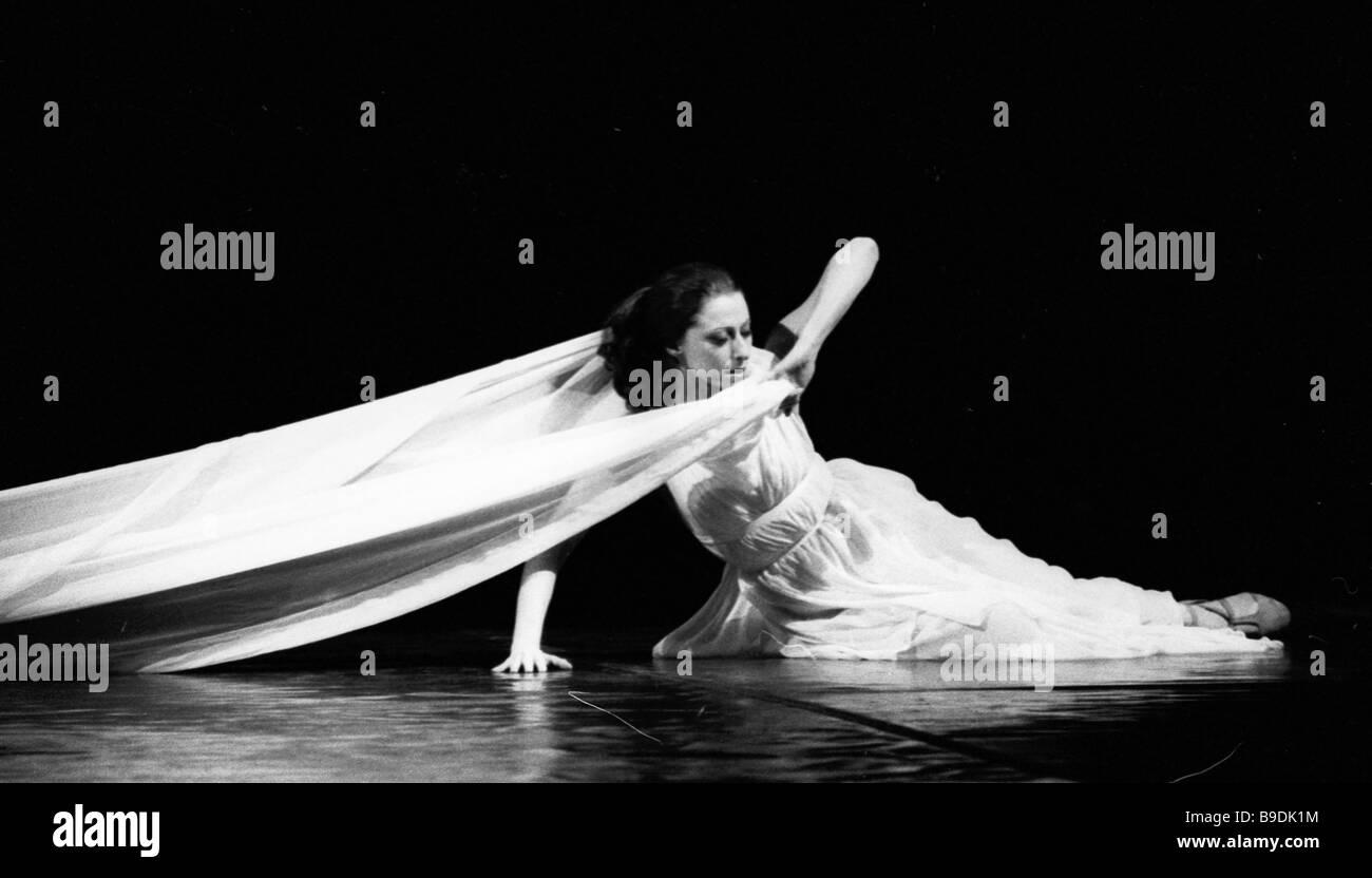 162e2bd161b Maya Plisetskaya People s Artist of the U S S R Hero of Socialist Labor in  the ballet Isadora
