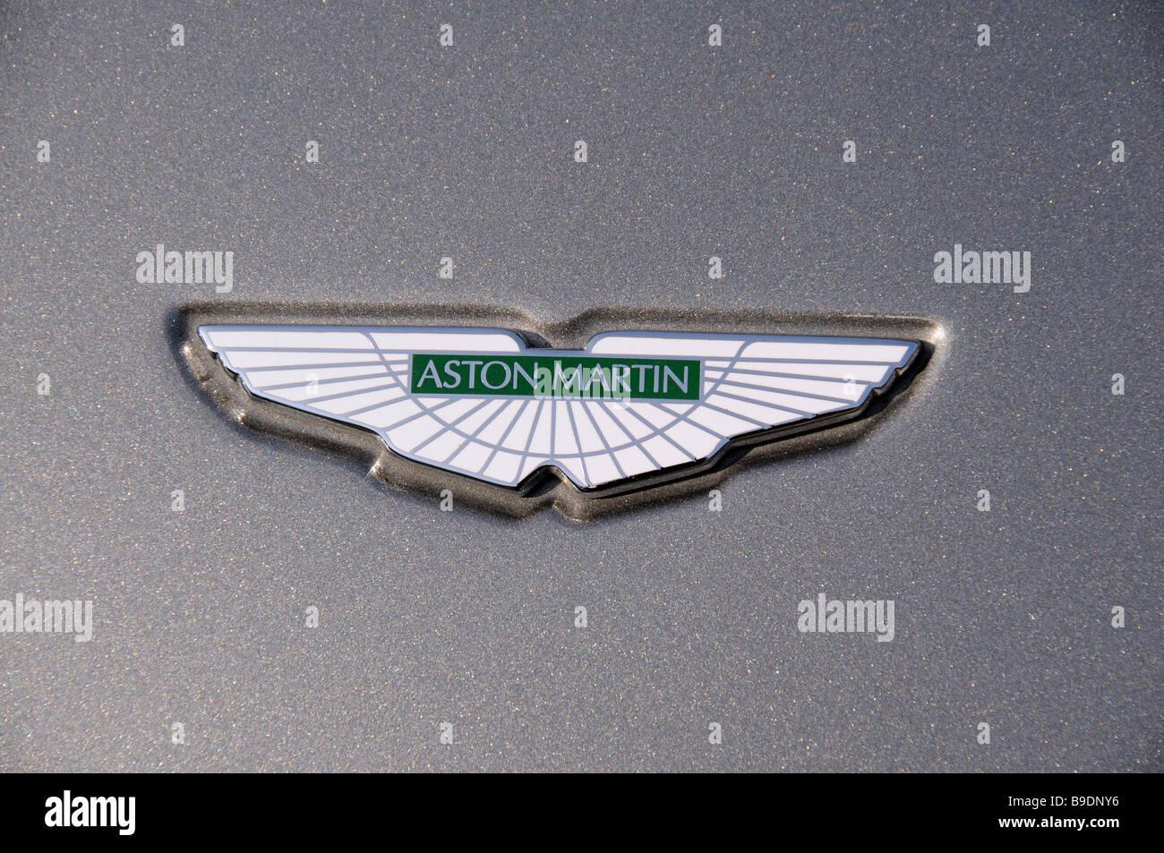 Aston Martin Logo Stock Photos Aston Martin Logo Stock Images Alamy
