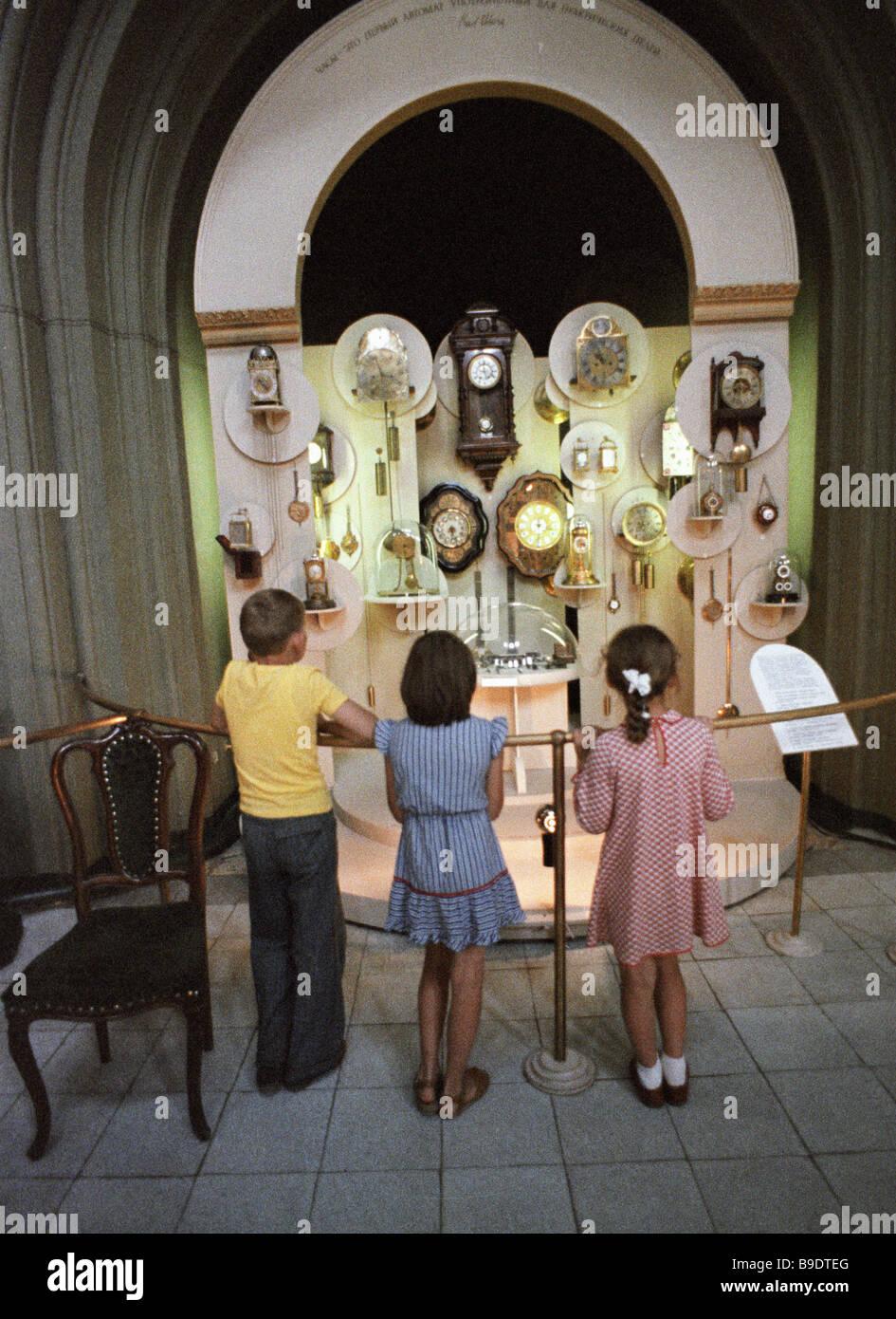 Watch museum Vladimir - Stock Image