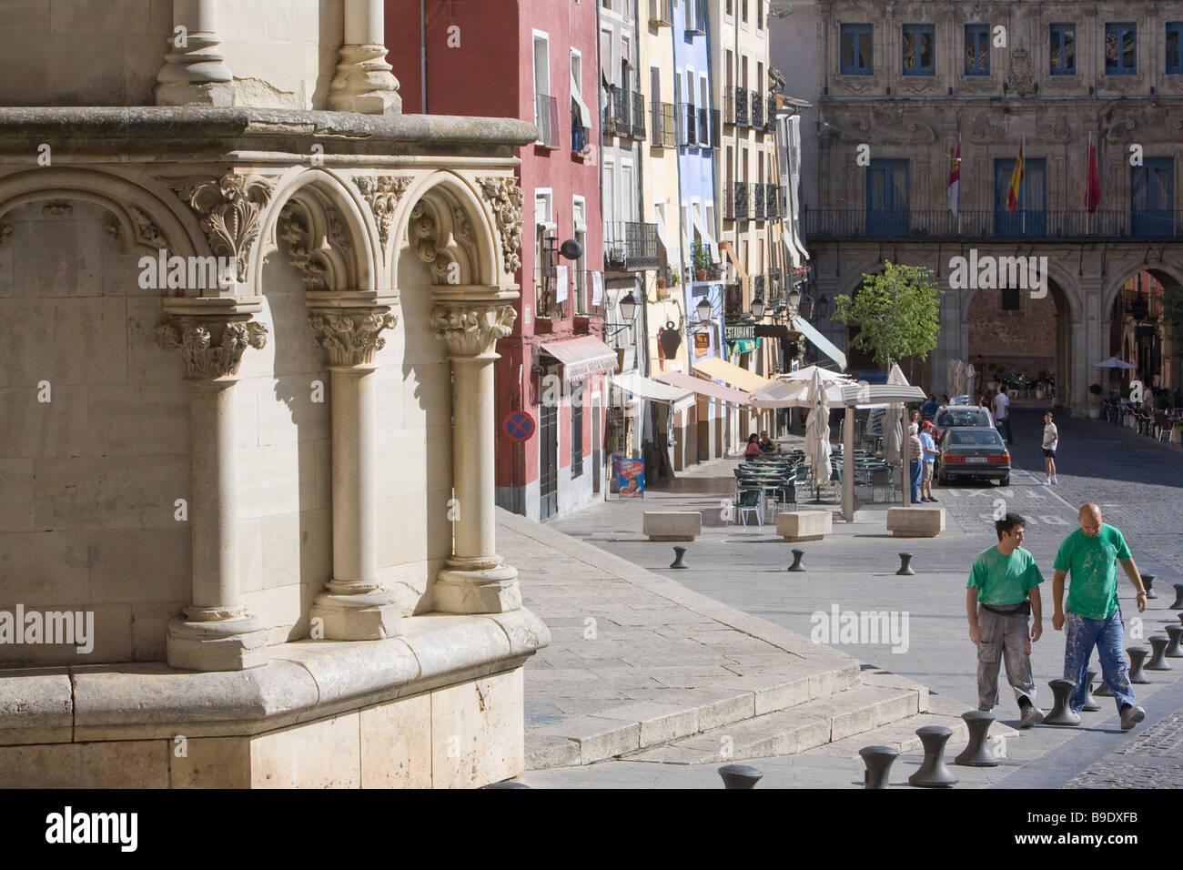 Cathedral Cuenca Castilla La Mancha Spain - Stock Image