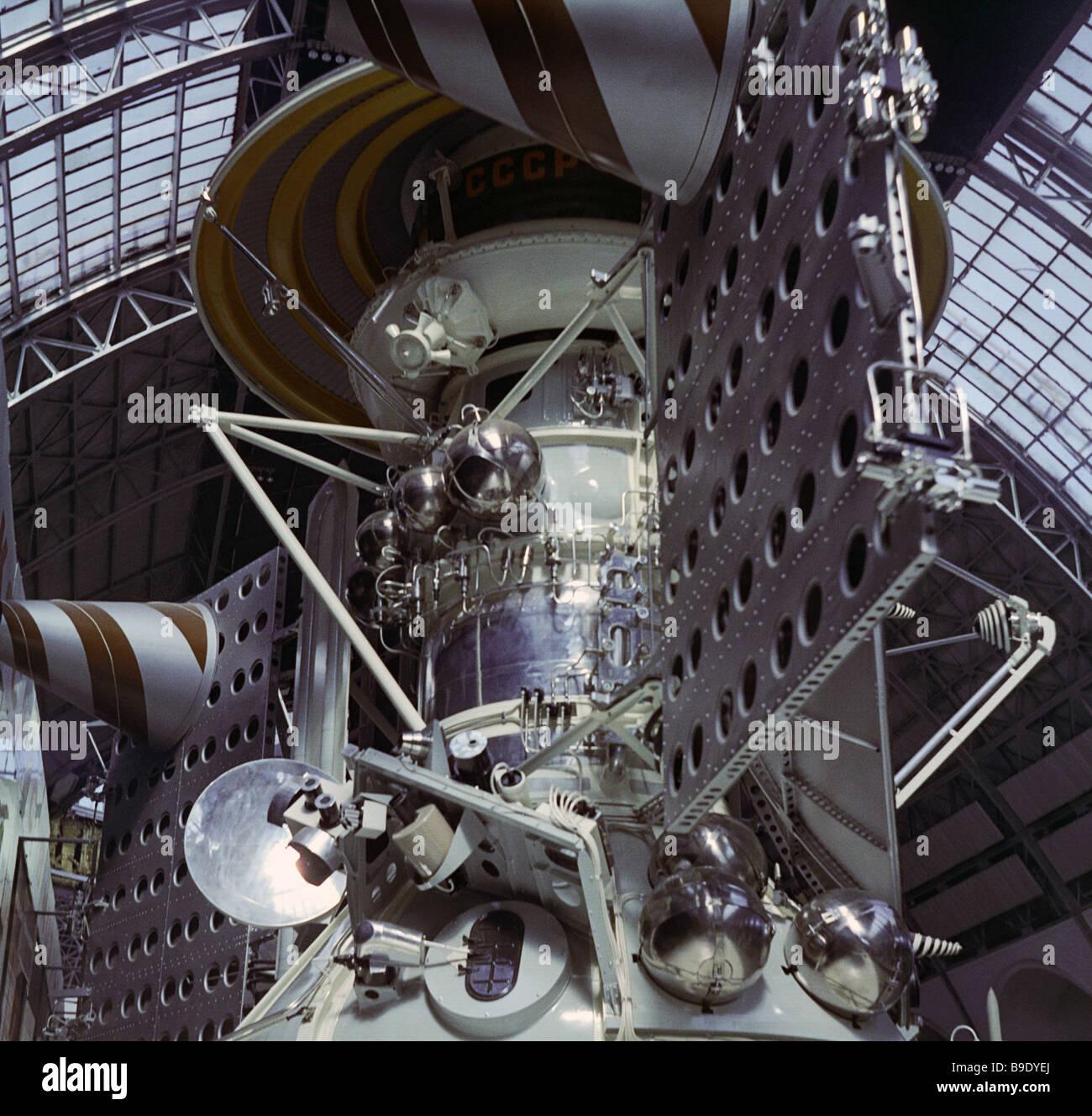Mars 3 automatic interplanetary station - Stock Image