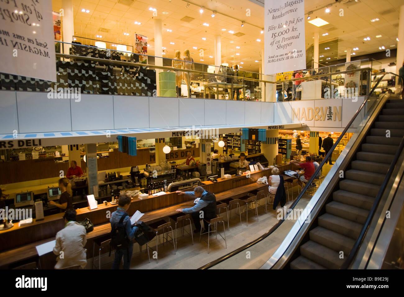 Magasin du Nord department store Copenhagen Zealand Denmark - Stock Image