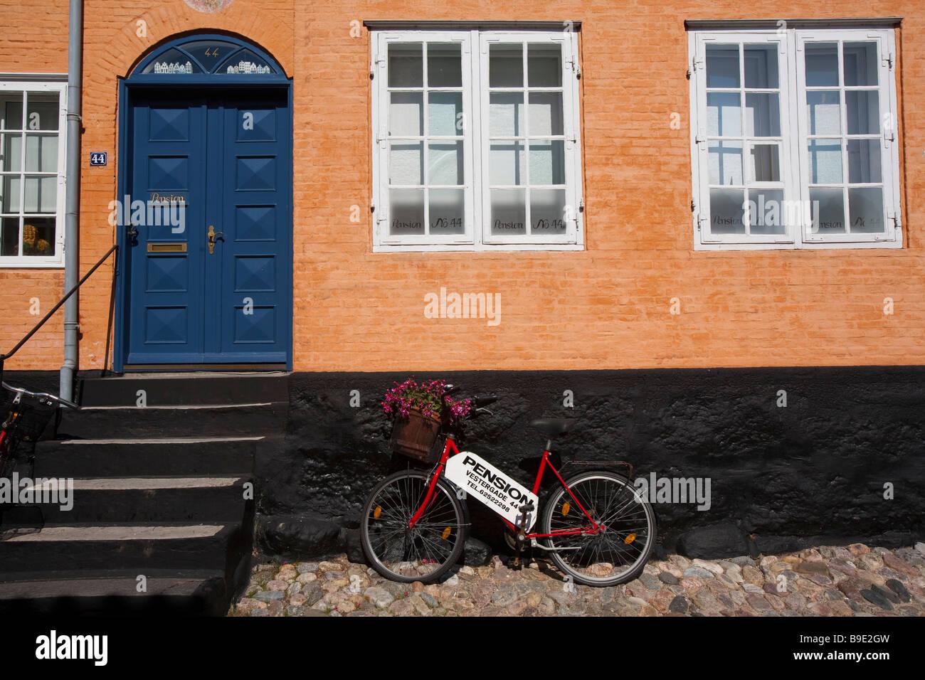 Old city Ærøskøbing Ærø island Funen Denmark - Stock Image