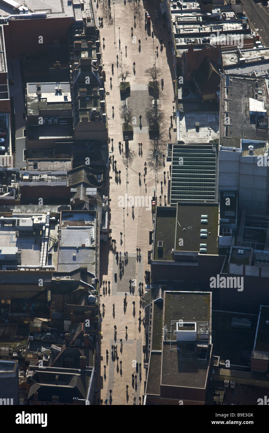 Bromley aerial view - Stock Image