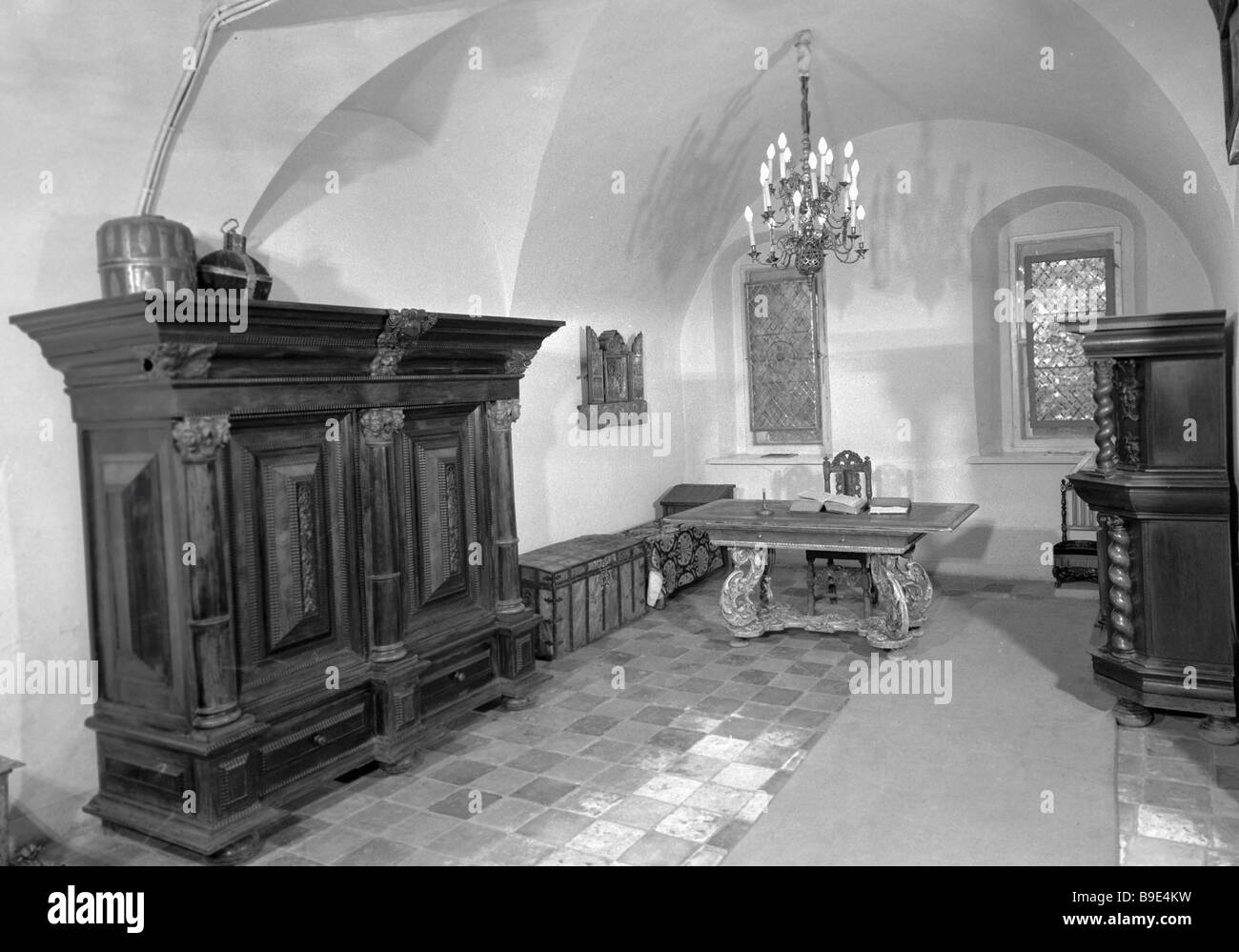 The Patriarchal Chambers of the Moscow Kremlin - Stock Image