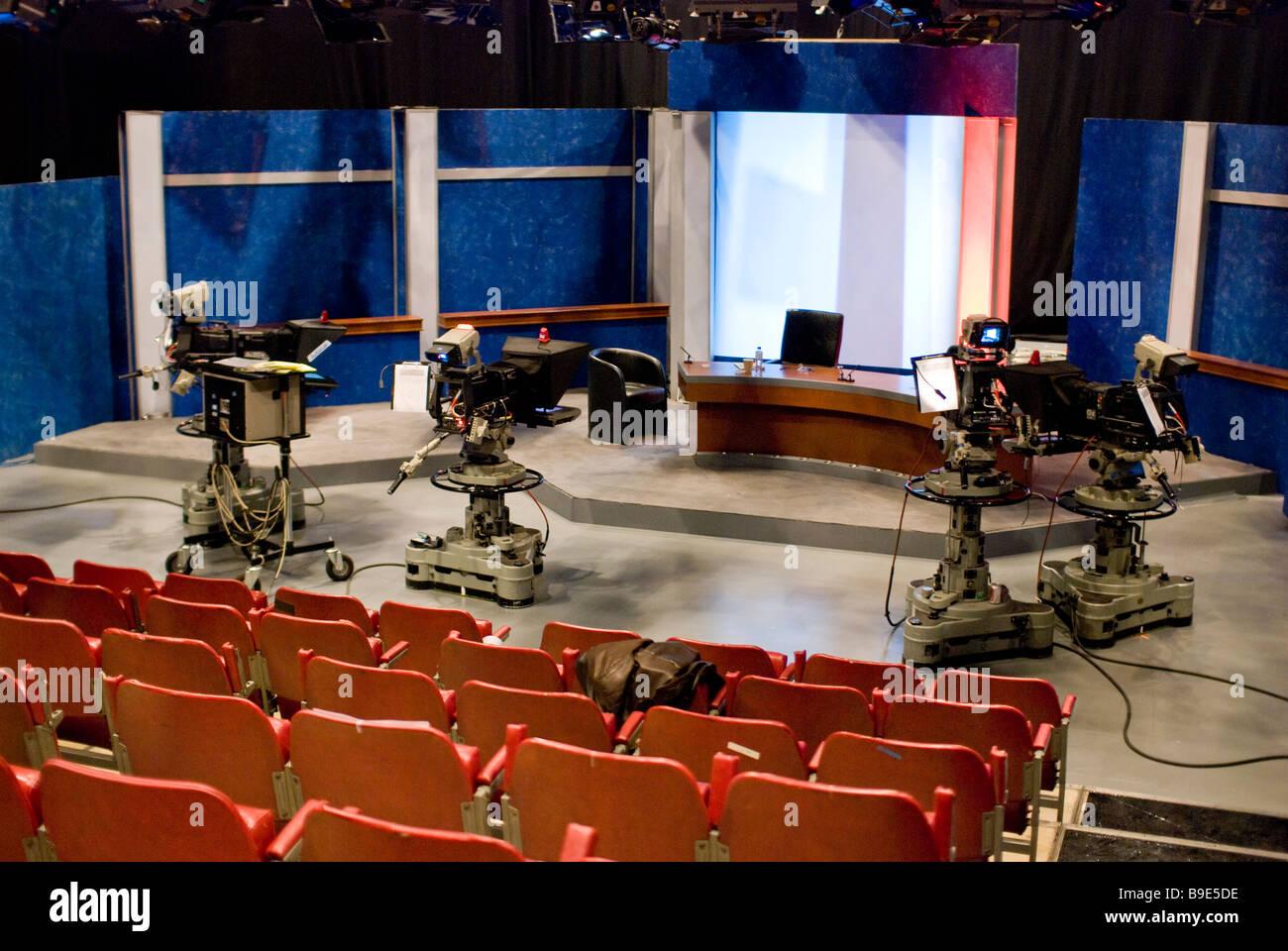 tv studio furniture. Unique Studio A TV Studio  Stock Image And Tv Studio Furniture L