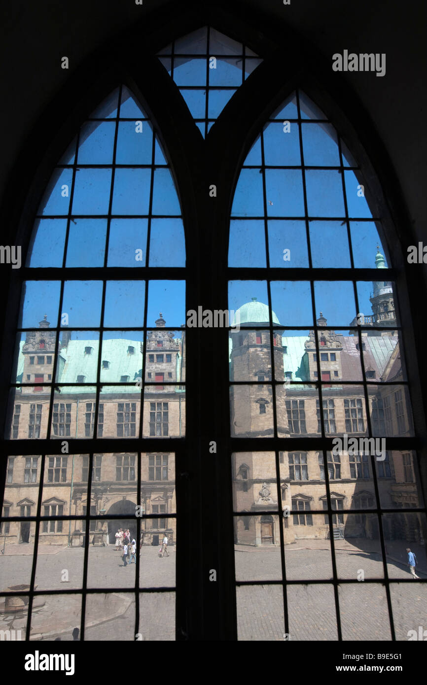 Kronborg castle Helsingør Zealand Denmark - Stock Image