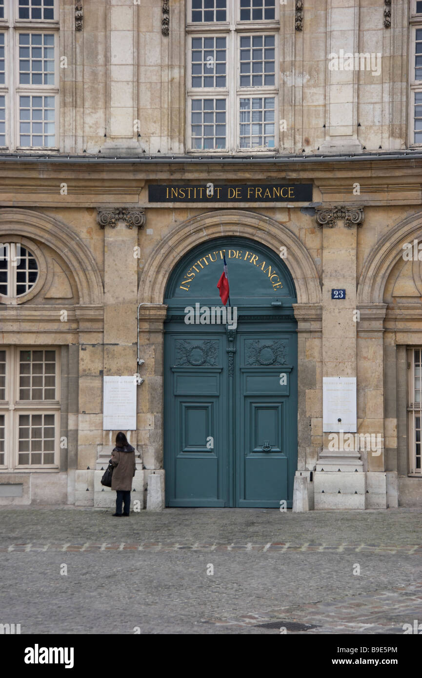 The Institut de France (French Institute) - Stock Image