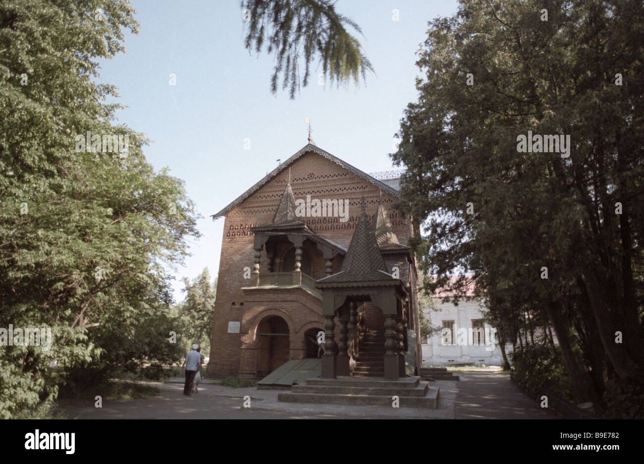 Chambers of Tsarevich Dmitry built in 1482 - Stock Image