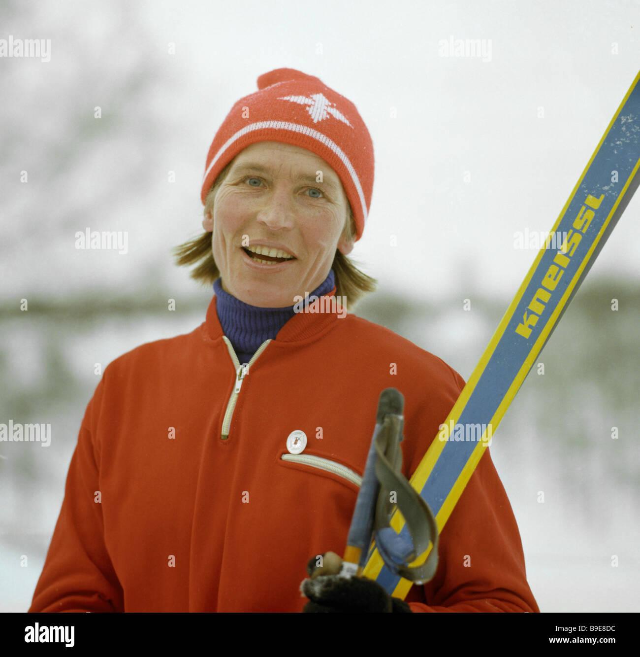Galina Kulakova 8 Olympic medals