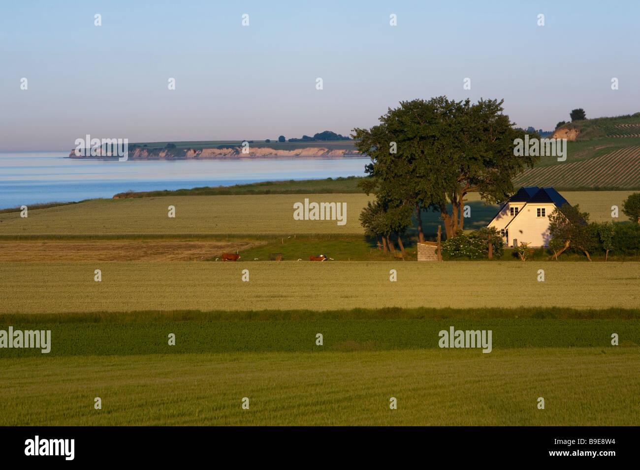 House Ærø island Funen Denmark - Stock Image
