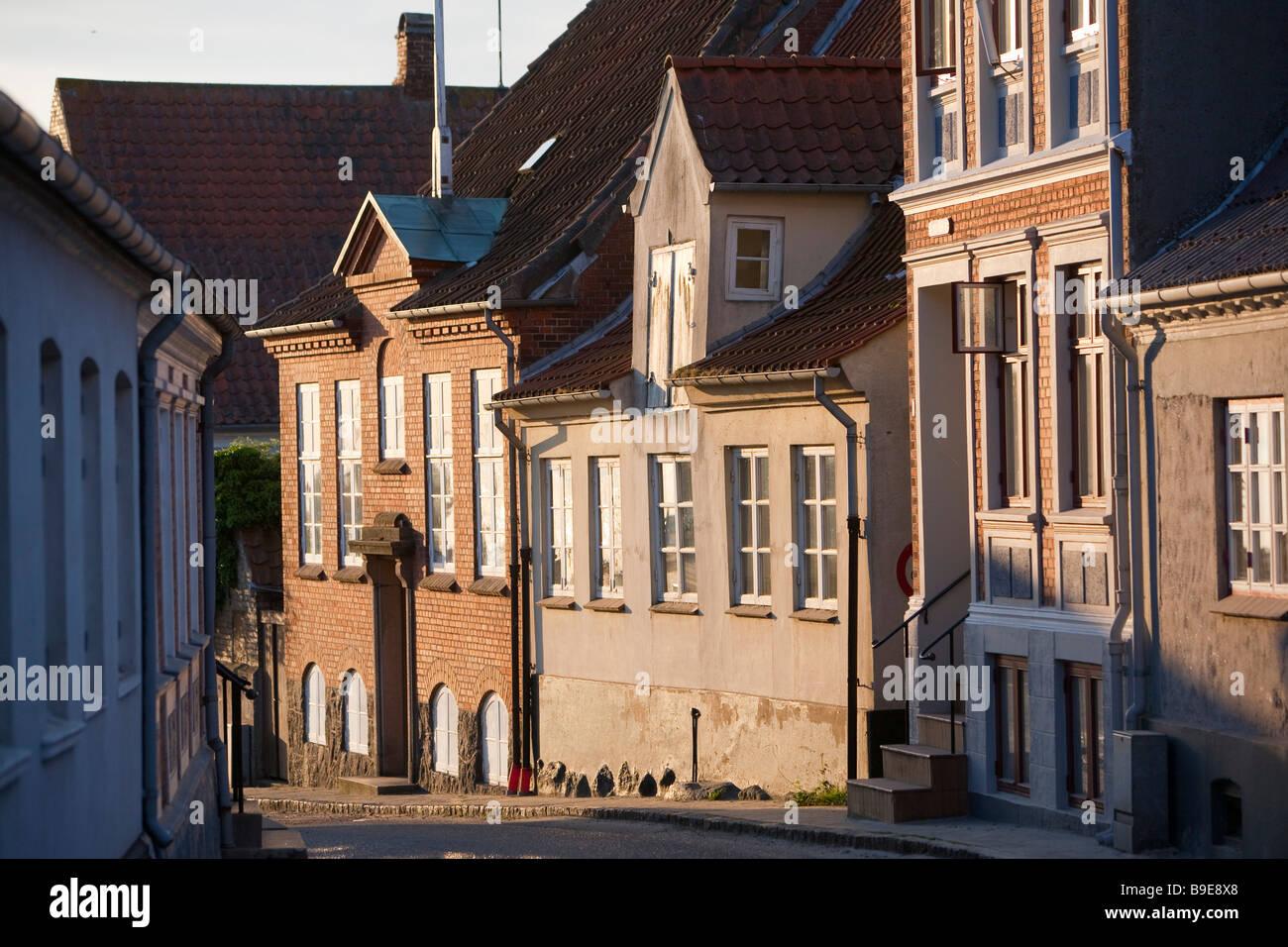 Marstal Ærø island Funen Denmark - Stock Image