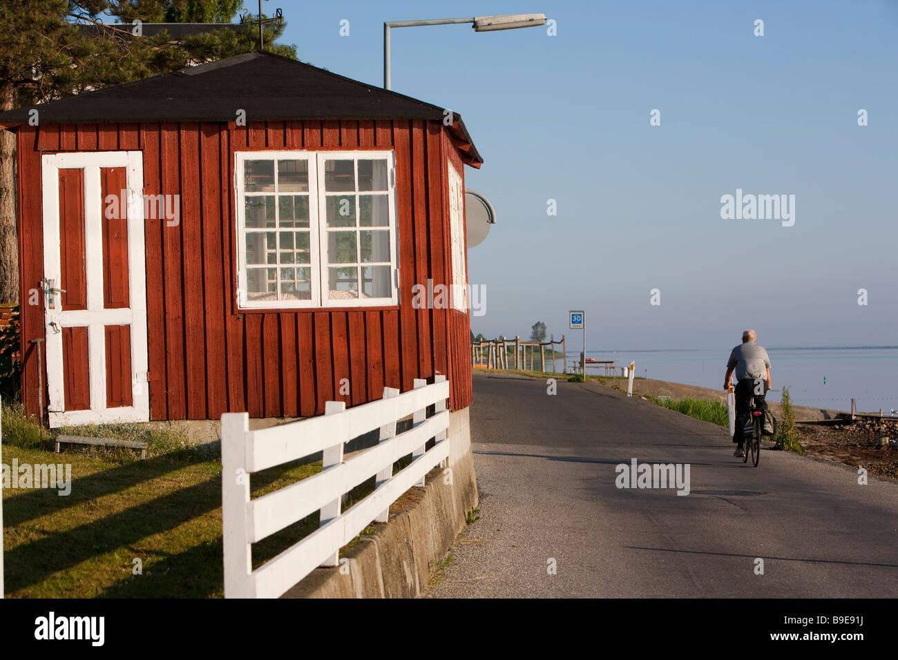 Denmark  Funen Ærø island  Marstal - Stock Image
