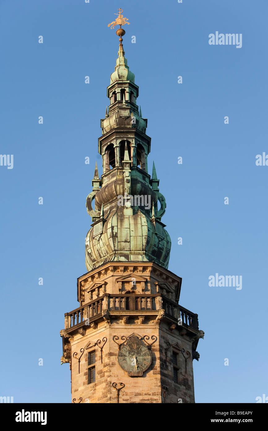 Kronborg castle Helsingor Zealand Denmark - Stock Image