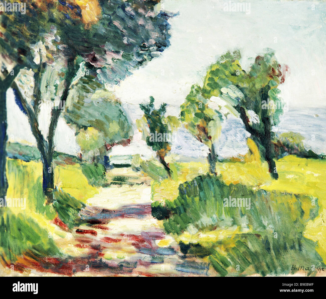Henri Matisse Landscape High Resolution Stock Photography and ...