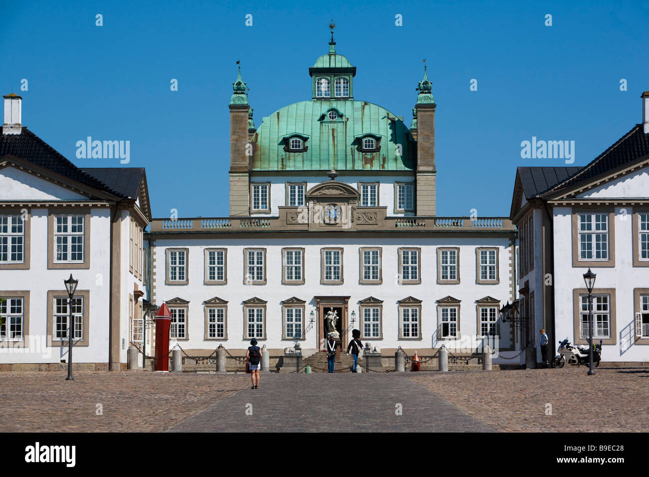Fredensborg castle Fredensborg Zealand Denmark - Stock Image