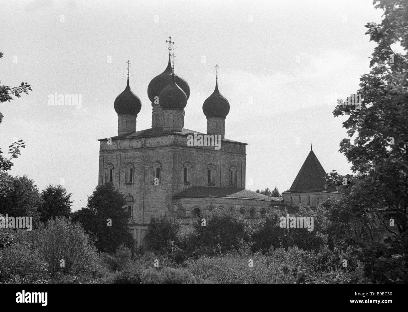 St Sergius church of the SS Boris and Gleb Monastery - Stock Image