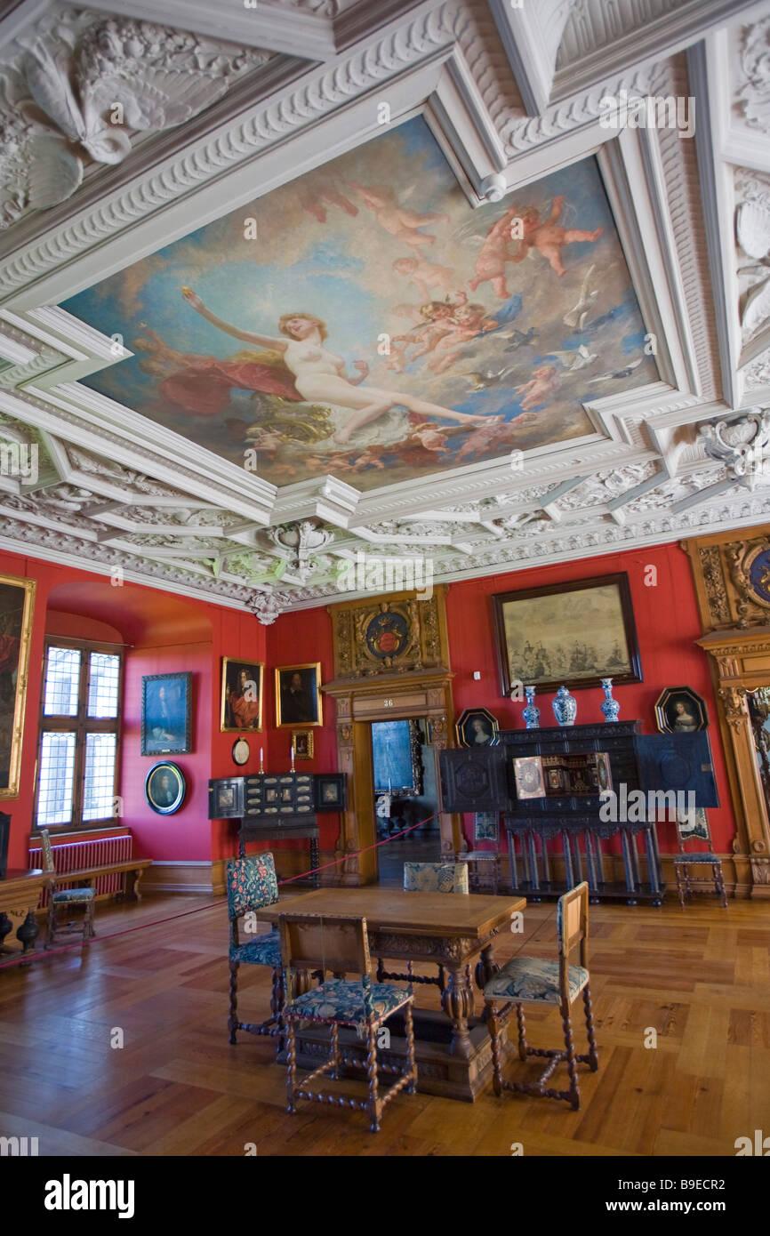 Denmark Zealand Helsingor Frederiksborg castle Stock Photo