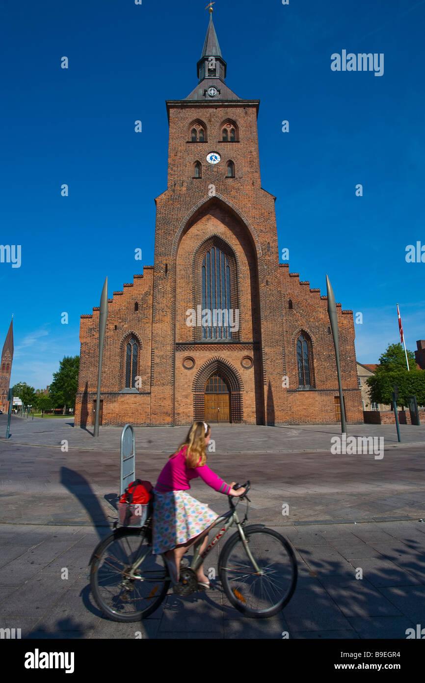 Denmark Funen Odense Skt Knuds Domkirke Stock Photo