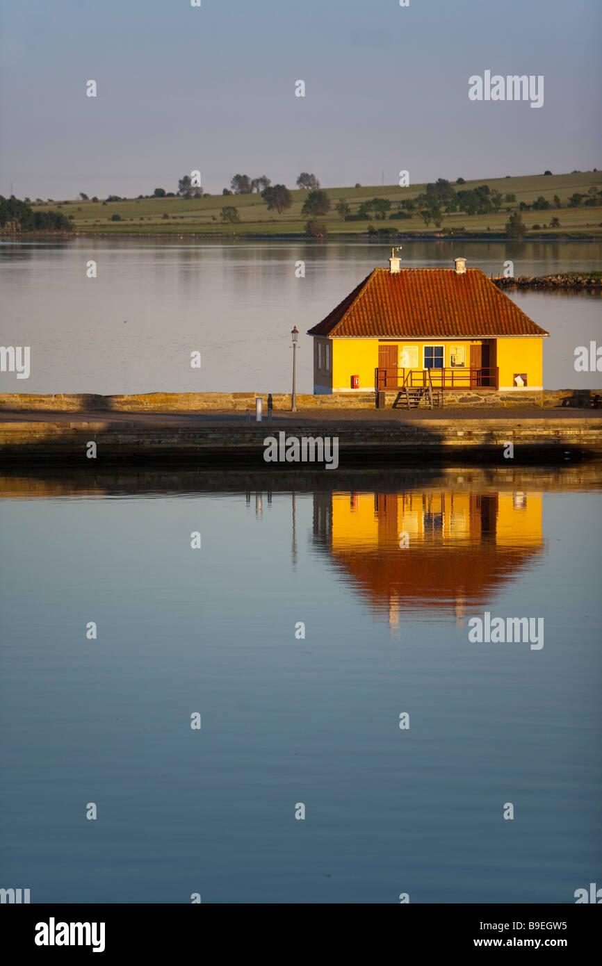 House Marstal Ærø island Funen Denmark - Stock Image