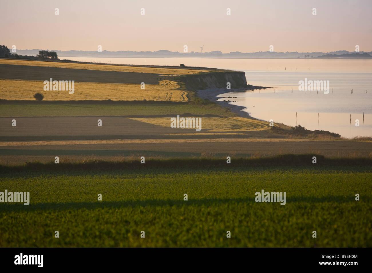 Ærø island Funen Denmark - Stock Image