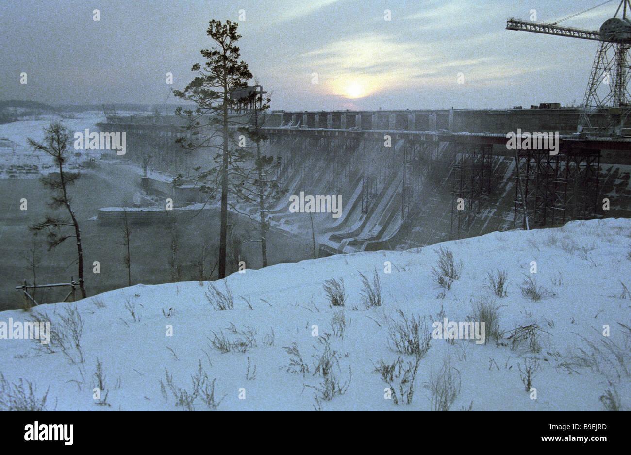 HPP Ust-Ilim: location, power, photo 54