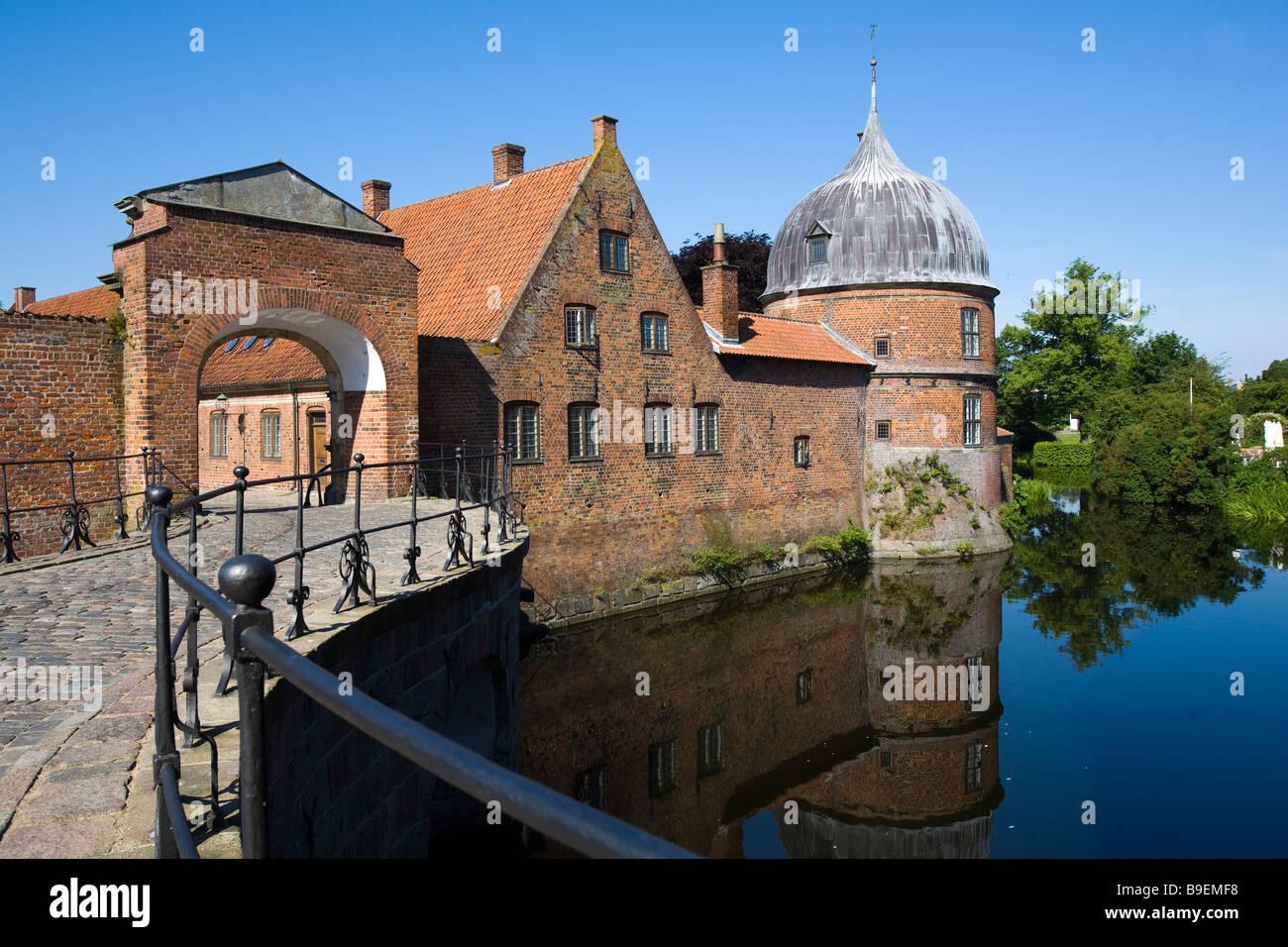 Frederiksborg castle Hillerød Zealand Denmark Stock Photo