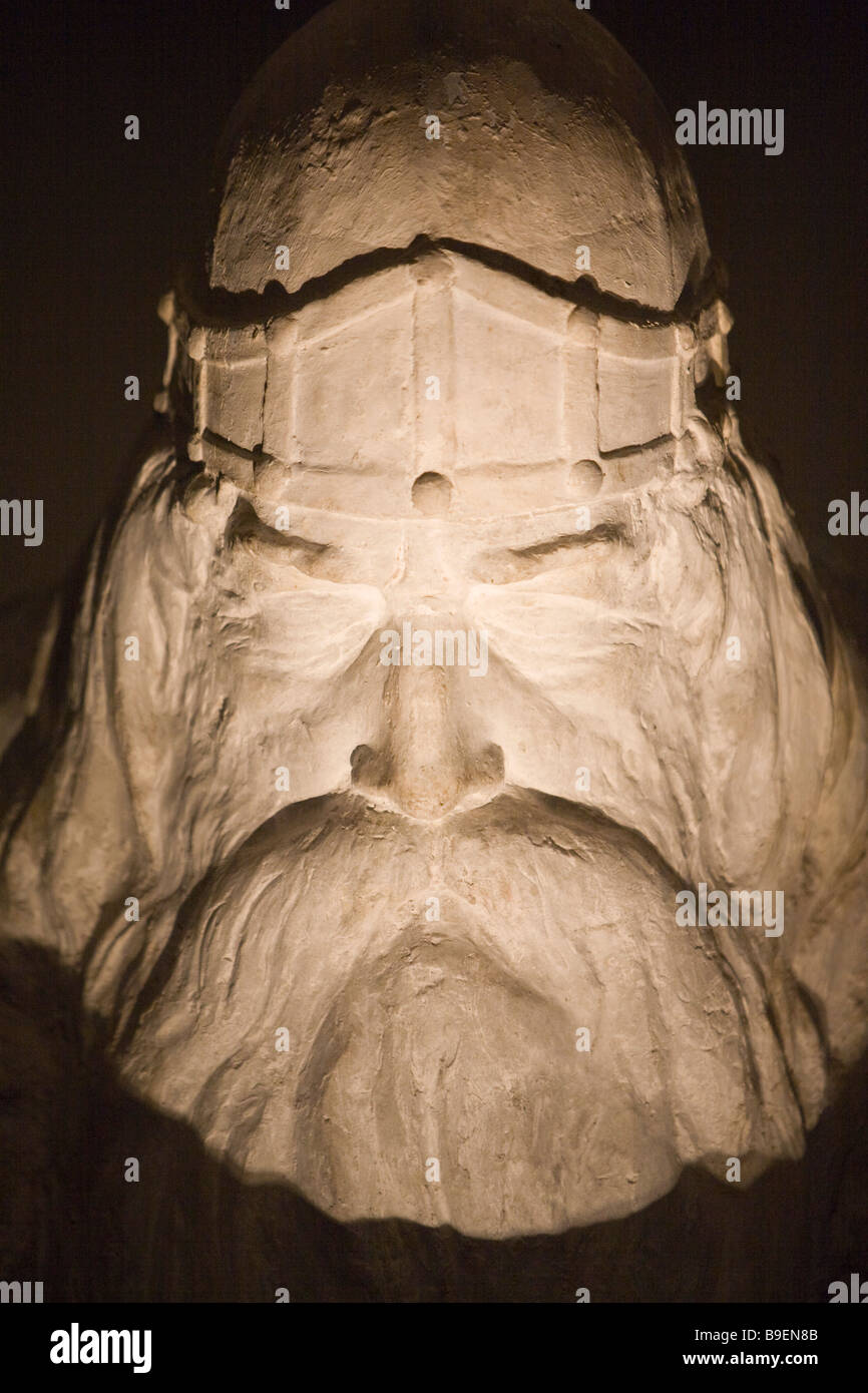 Odin statue Kronborg castle Helsingør Zealand Denmark Stock Photo