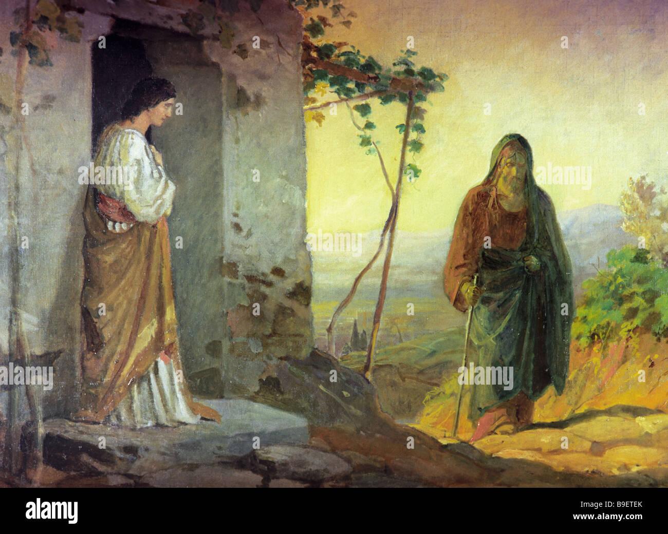Lazarus jesus stock photos lazarus jesus stock images for Jesus brings lazarus back to life coloring page