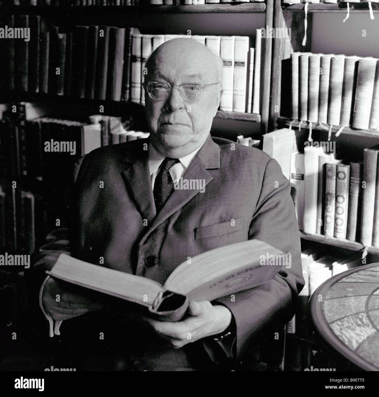 Mikhail Alexeyev Russian Literature Research Institute Fellow Leningrad - Stock Image