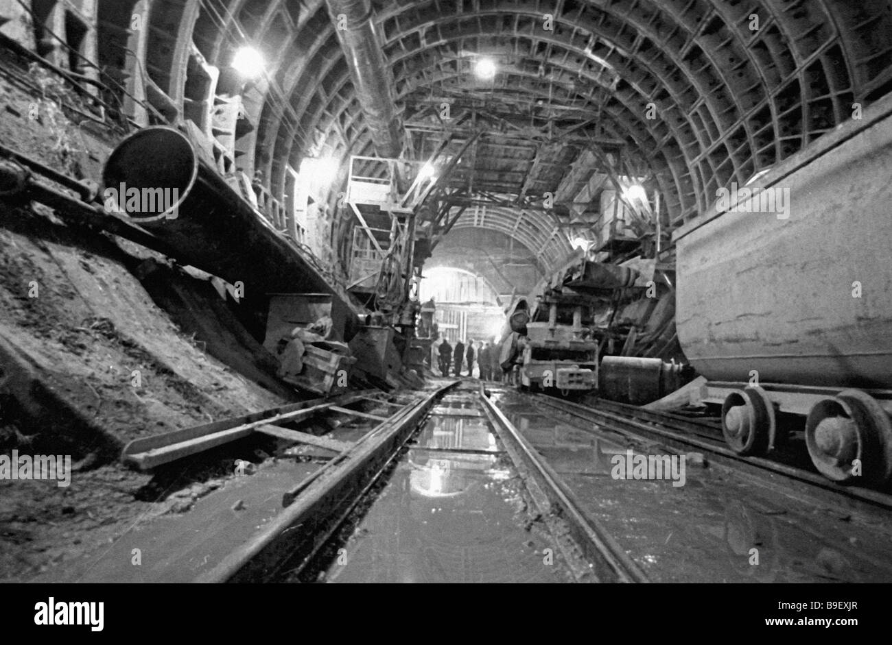 During the construction of the Moscow metro, mortality and injuries decreased by 30 percent 73