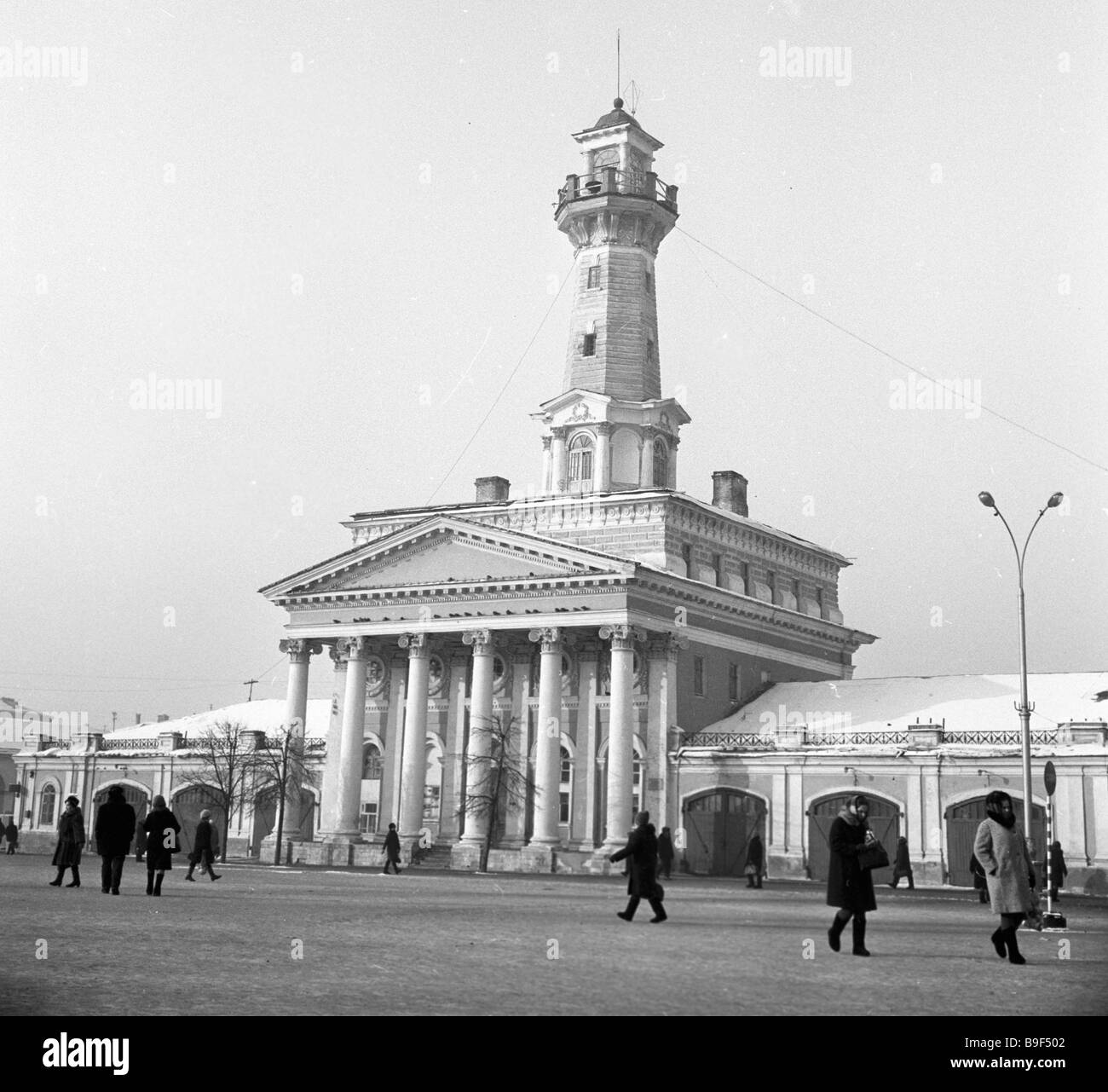 Fire tower (Kostroma): the ancient symbol of the modern city 41