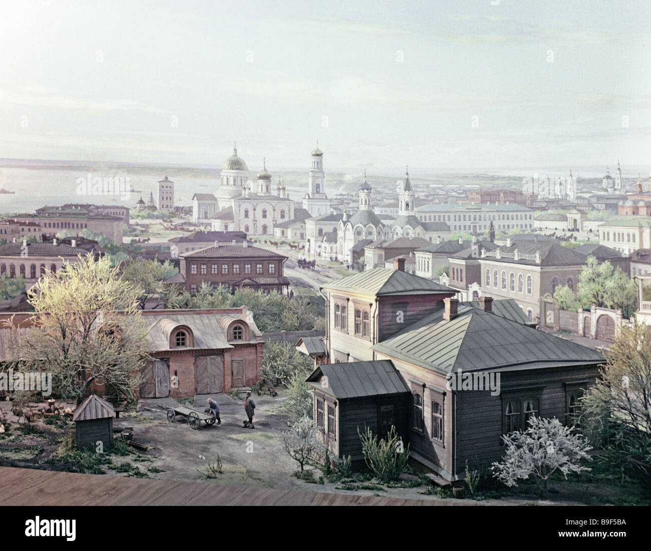 Leni Mesum: Simbirsk In 1870 Diorama In The Ulyanovsk Branch Of