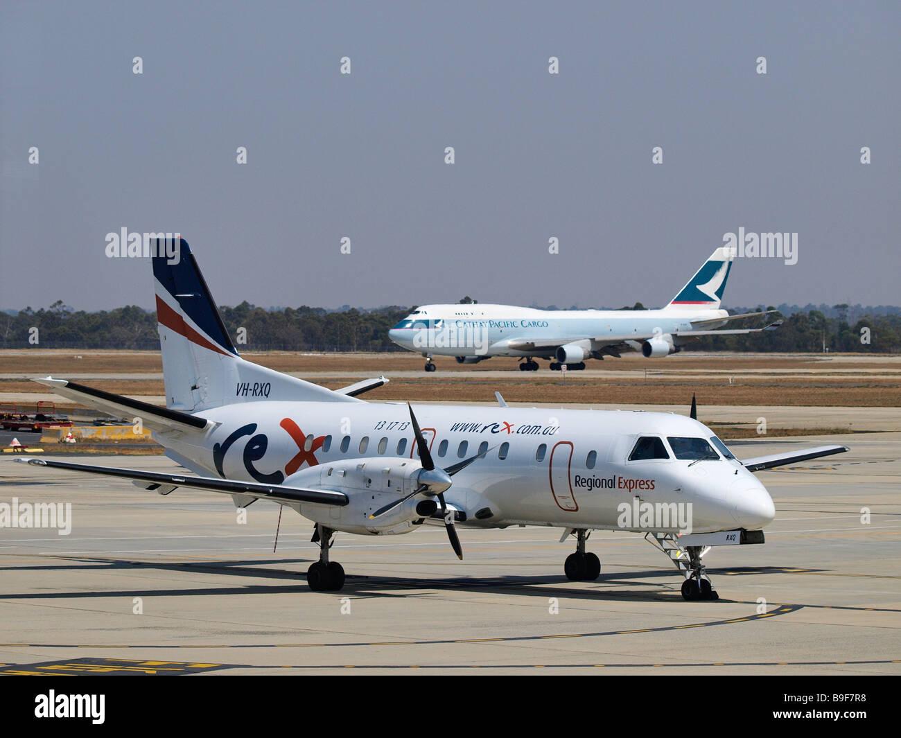 MELBOURNE AIRPORT, TULLAMARINE, VICTORIA - Stock Image