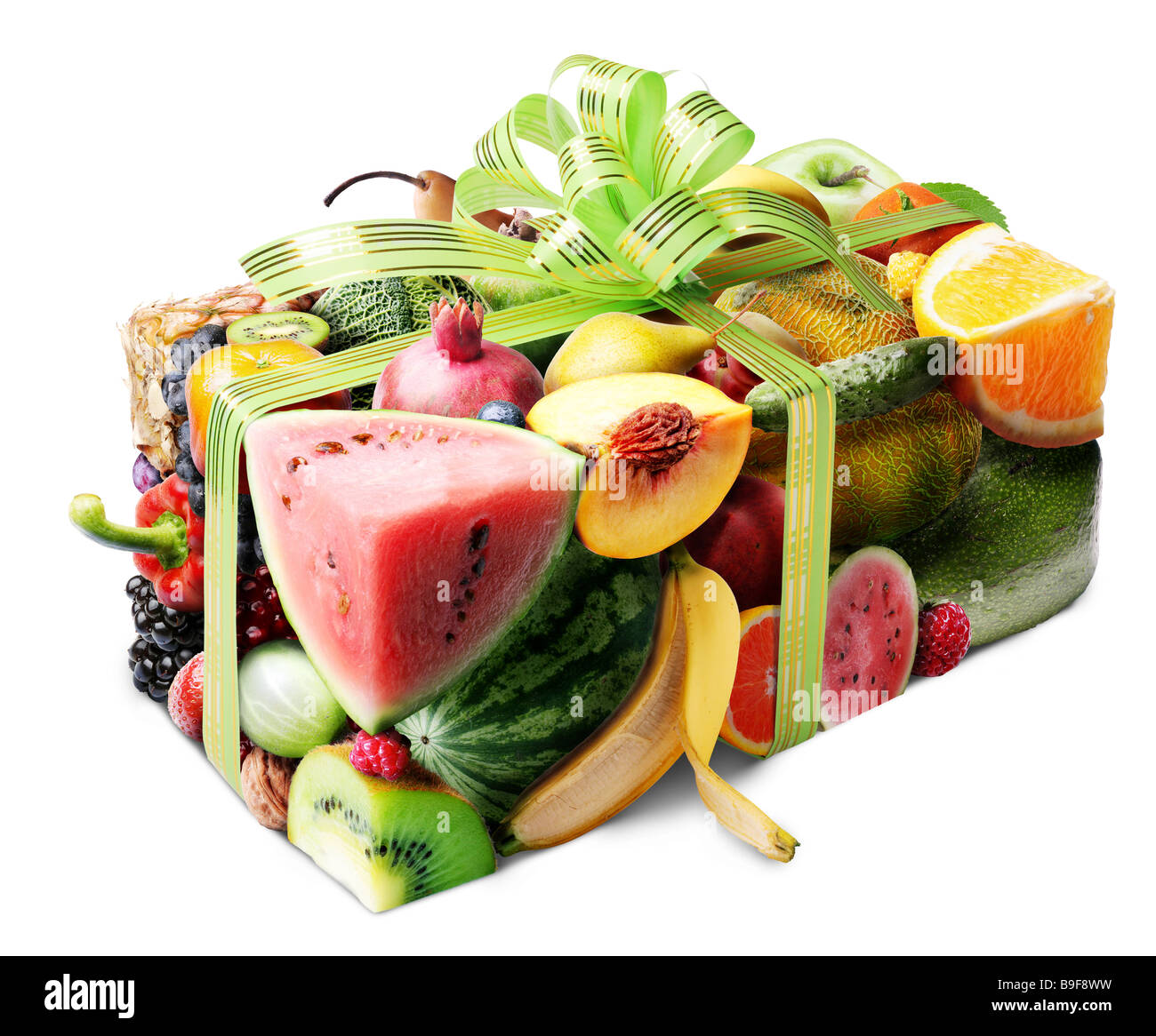 Fruit gift - Stock Image