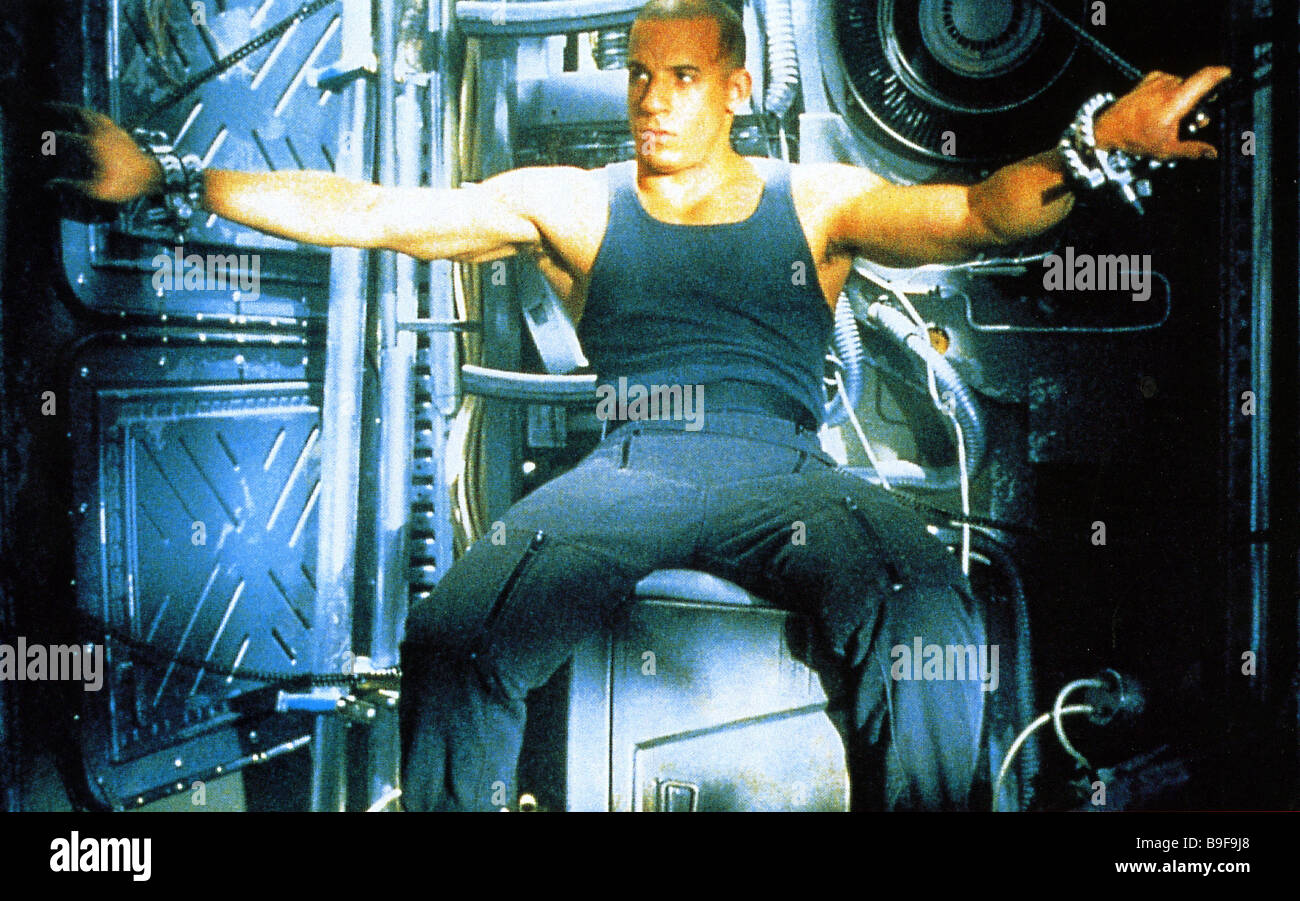 PITCH BLACK 2000 Film with Vin Diesel - Stock Image