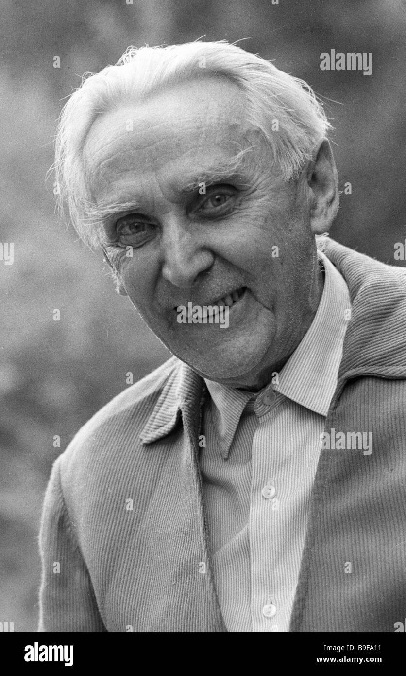 Writer Konstantin Fedin 1892 1977 - Stock Image