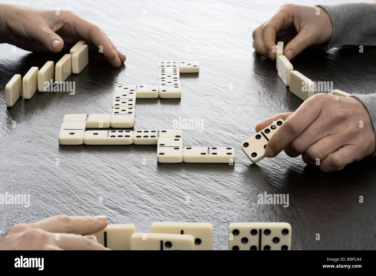 People Playing Dominos Stock Photos & People Playing Dominos Stock ...