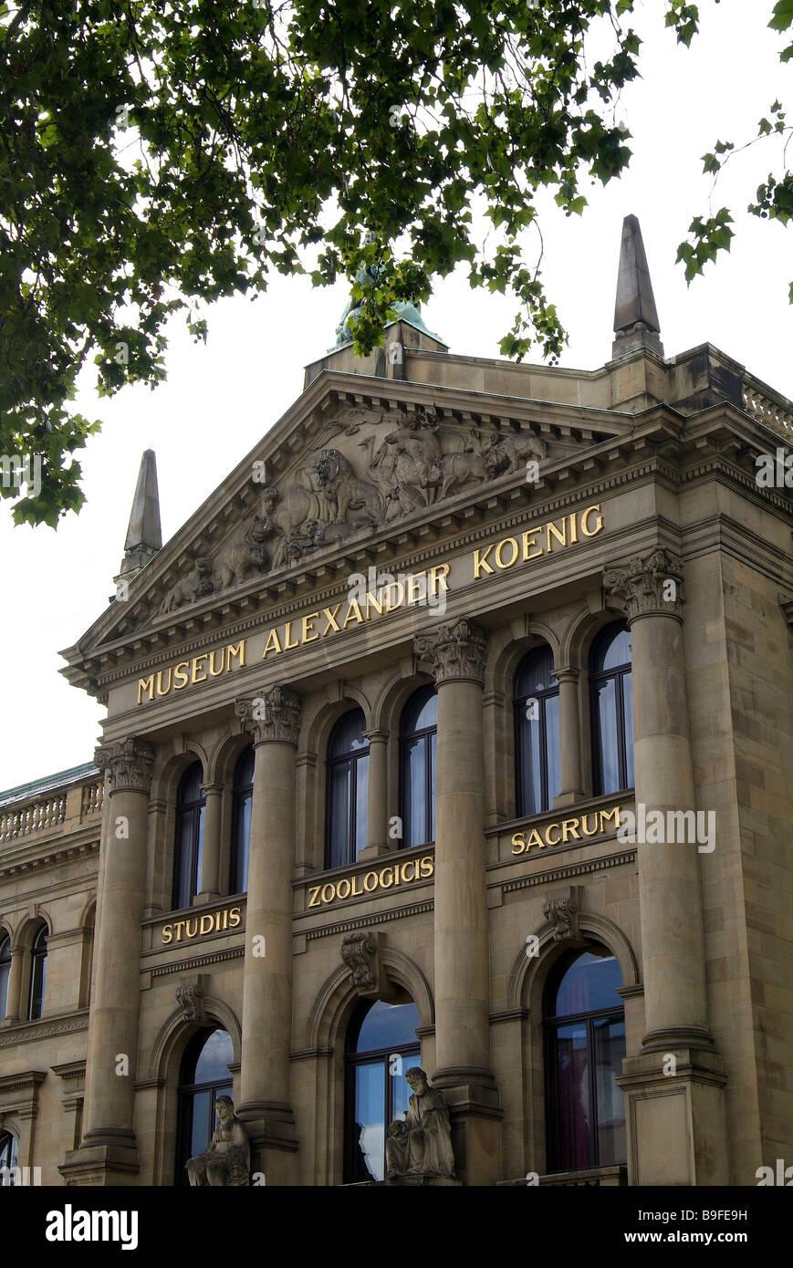 Germany Bonn museum Alexander Koenig - Stock Image