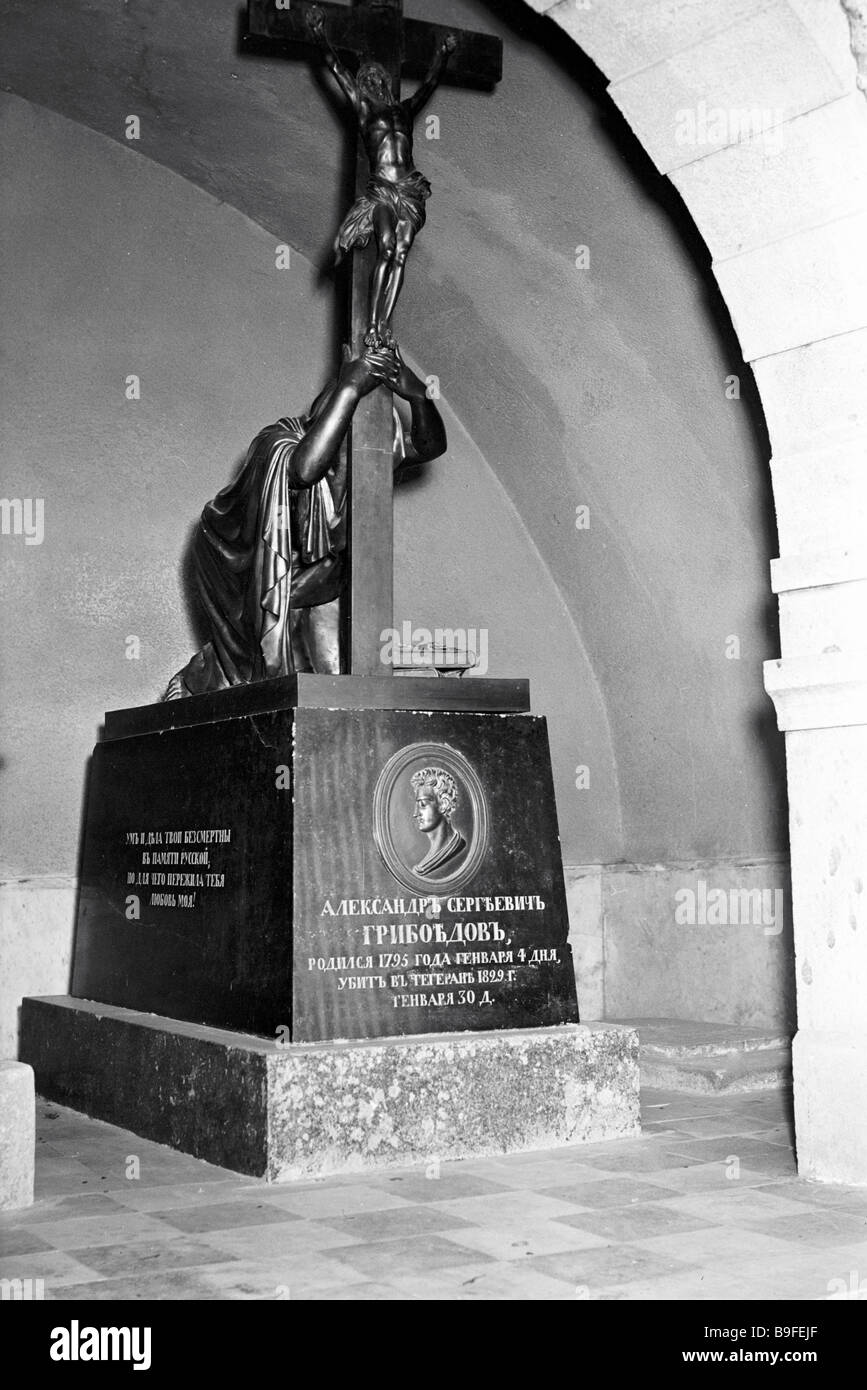 Where is the grave of Griboyedov