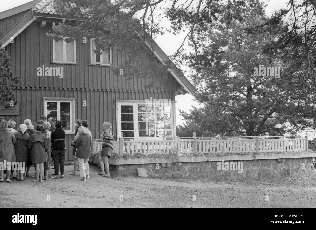 The house museum of German writer Thomas Mann on the Curonian Spit - Stock Image