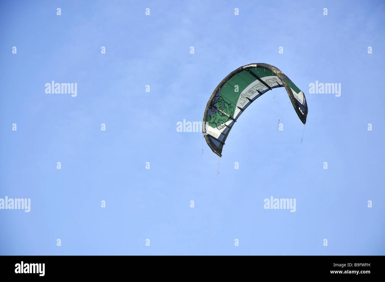 Green Kite - Stock Image