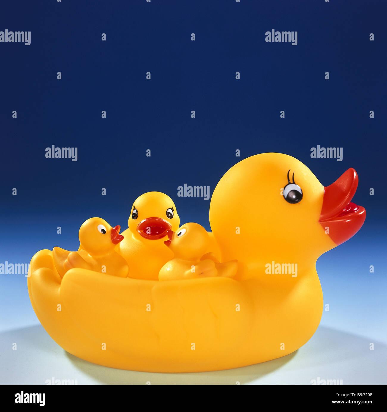 Rubber-ducks yellow \