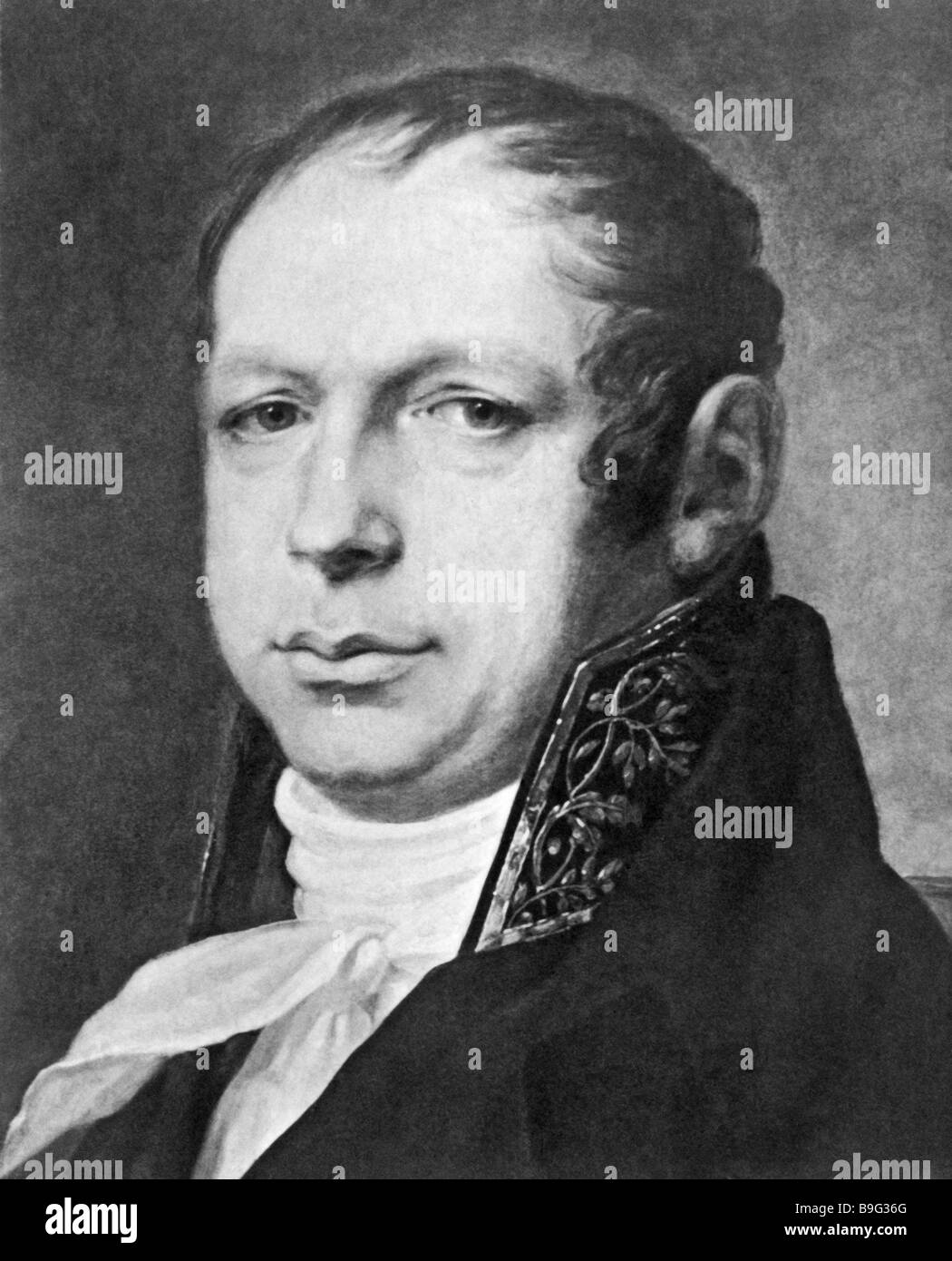 Andreyan D Zakharov 1761 1811 a Russian classical architect - Stock Image