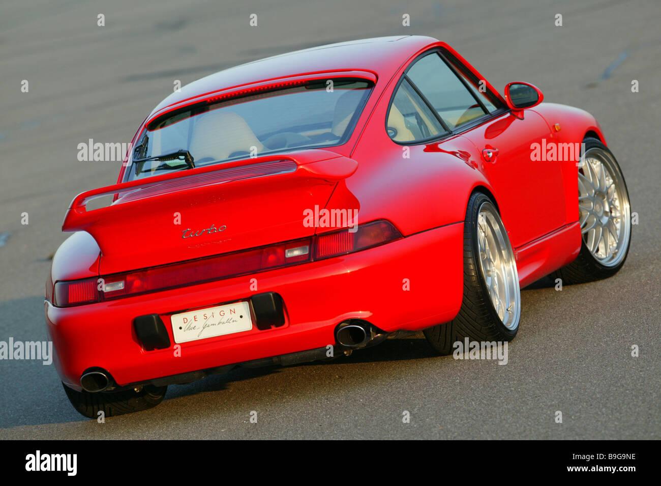 Porsche Gemballa Red Backview Series Vehicle Car Sport Cars Sport