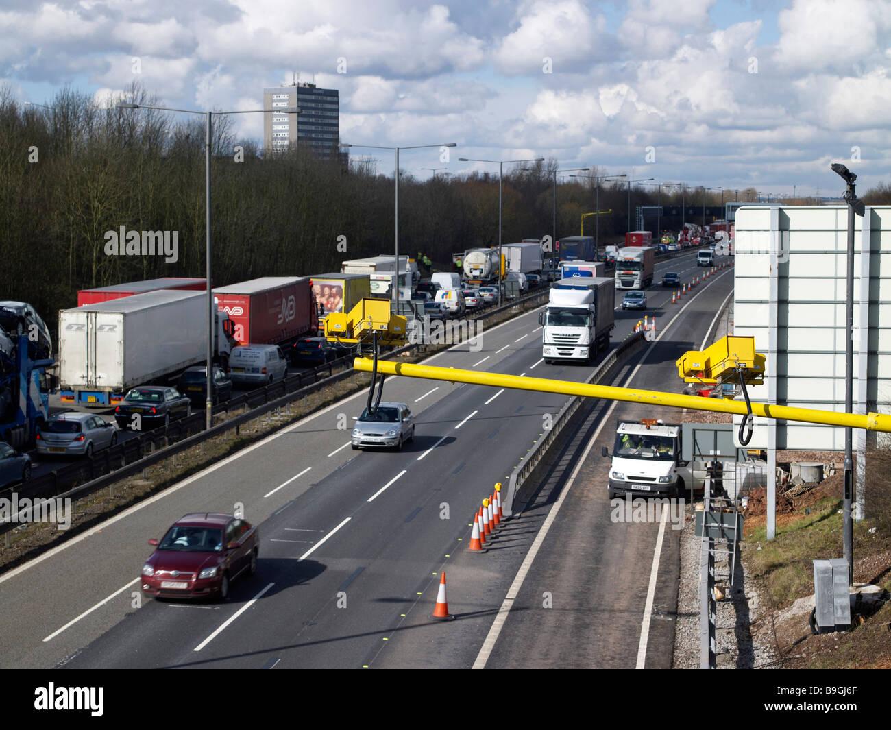 M6 link road