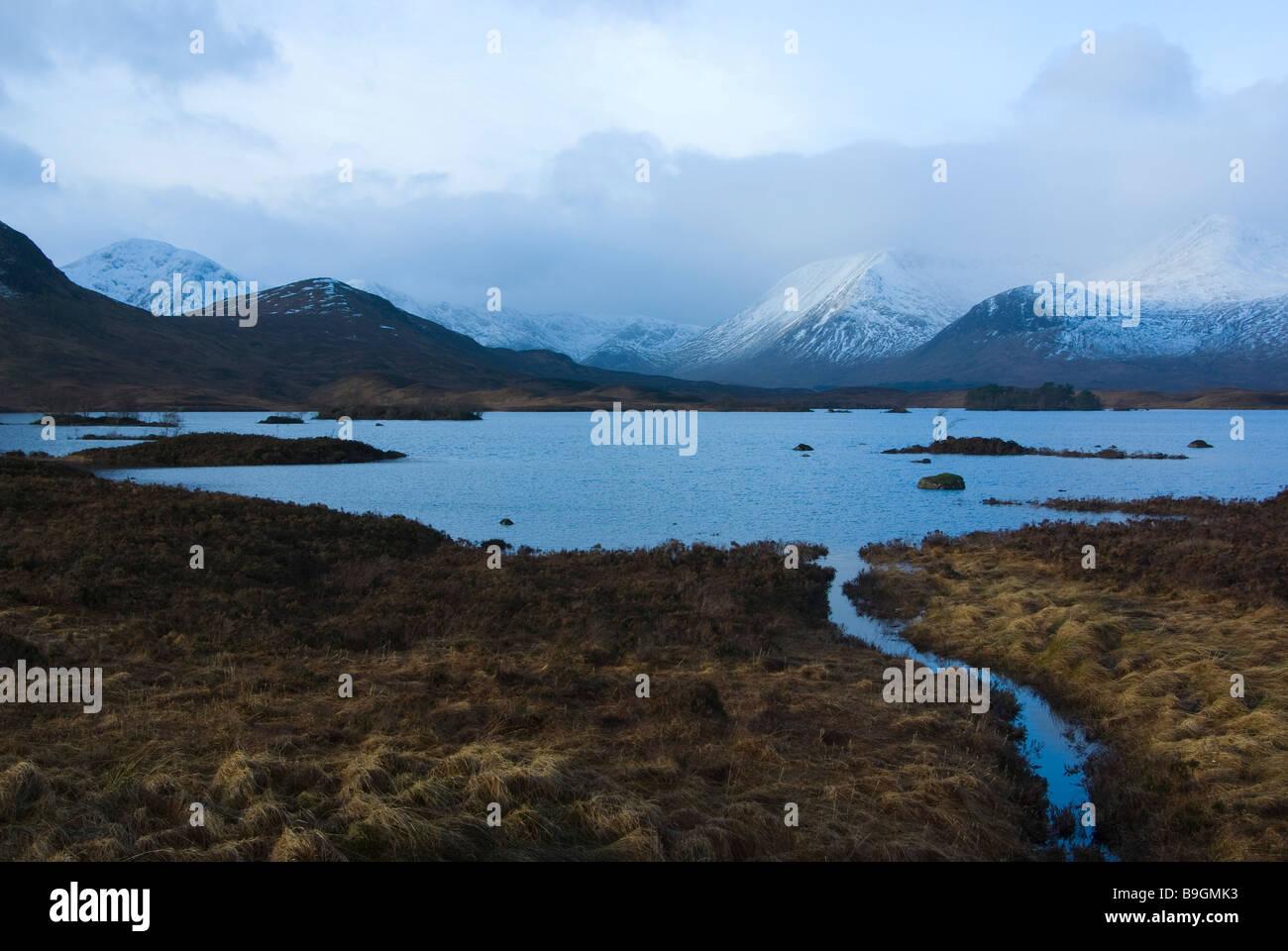 Rannoch Moor, Scottish Highlands - Stock Image